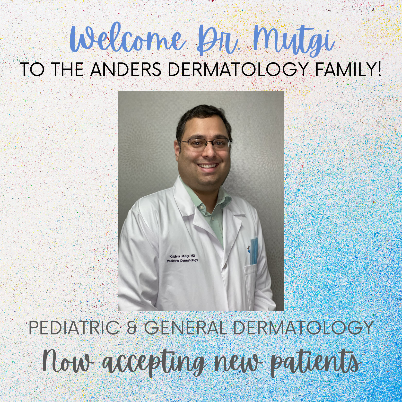 Welcome Dr. Mutgi